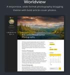 Worldview WordPress Theme – Responsive Multi-Purpose Blogging Theme
