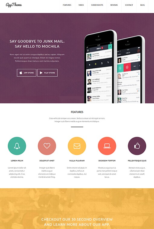 AppTheme WordPress Corporate Portfolio Theme