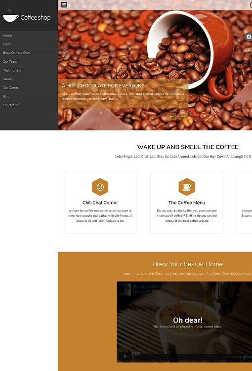 BlackWell WordPress Theme - A InkThemes One Page Business Theme