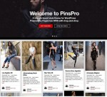 PinsPro WordPress Theme – A Pagelines Pinterest Inspired Theme