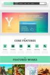 Yopta WordPress Theme – A Creative Theme With Parallax effect