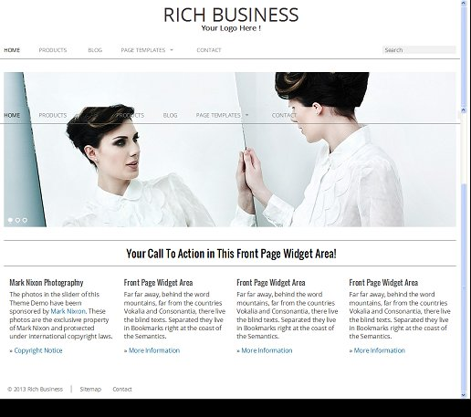 Rich Business WordPress Theme - RichWP