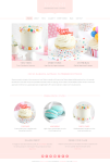 Naomi WP Theme – A BluChic Theme For Pastry and Cupcake