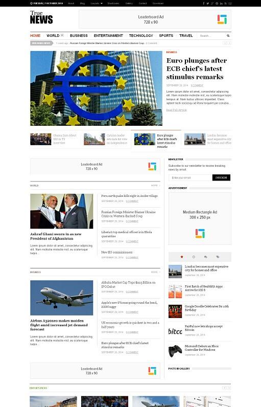 TrueNews WordPress Theme Review - Theme Junkie