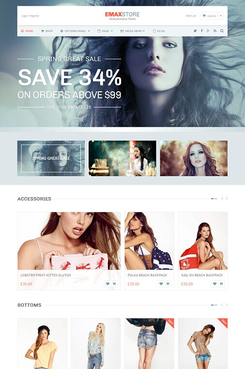 eMaxStore WordPress Theme – A MyThemeShop eCommerce theme