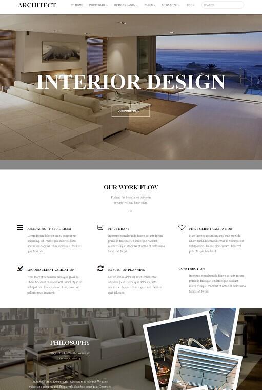 Architect WordPress Theme - A MyThemeShop Business Theme