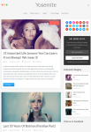 Yosemite WordPress Theme – A MyThemeShop Blogging Theme