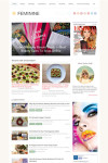 Feminine WordPress Theme - A Magazine3 Mommy Blogging Theme