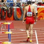 LiuXiang Quit Beijing Olympic Games 110-meter hurdles
