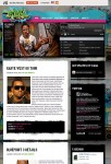 Tribal Music WordPress Theme From Gorilla Themes