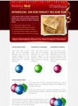 Holiday Mail – 5 COLORs Email Template