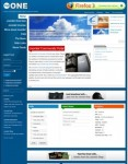 mpONE – Joomla 1.5 Native Template