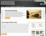 Gadget Free WordPress Theme By ThemeJam