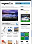 WP-Ellie WordPress Magazine Theme By Solostream