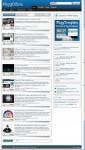 PliggDZine Premium News Style Pligg Theme Template