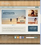 Woodrow Customizable Magento Theme