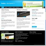 ThemeForest Kwuicq Drupal Corporate Blue Theme