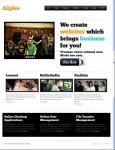 ThemeForest Alpha WordPress CMS theme