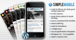 ThemeForest Simple Mobile WordPress theme