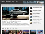 WPZOOM Manifesto Magazine WordPress Theme