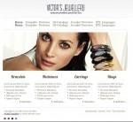 JM Victors Jewellery Joomla-Monster Template For Jewellery Store