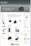 DJ-Photostore Joomla VirtueMart Store Template For Photo Equipment Website