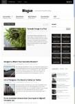 Blogue WordPress Minimalist Personal Theme Warrior