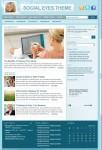 StudioPress Social Eyes Child Theme on Genesis Framework