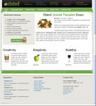 JoomlaShack JS Elated Joomla Multi-Purpose Template