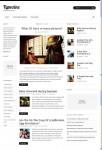 Kreative Themes Typozine WordPress Minimalist Theme