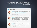 UPThemes Twitter Search Plugin for WordPress