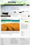Organic Themes Natural WordPress Portfolio Theme