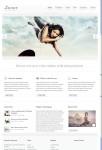 UFO Themes Lunar WordPress Theme For Showcasing Your Portfolio