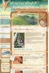 Furu Themes Sand and Starfish WordPress Blog-Style Theme
