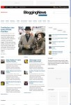 Colorlabs BloggingNews WordPress Theme For News Portal Website