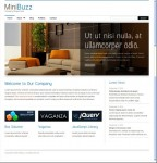 MiniBuzz Minimalist Business WordPress Theme : ThemeForest