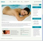 Clover Themes Salon WordPress CMS theme