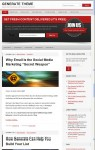 StudioPress Generate, Mobile Responsive Design WordPress Theme