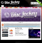 Aloha Themes Disc Jockey Theme For WordPress