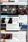 Magazine3 MusicNews WordPress Music Magazine theme