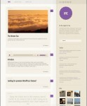 CSSIgniter NYC WordPress Theme For Tumblr like Blogging Sites
