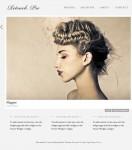 Graph Paper Press Retouch Pro WordPress Responsive Photography Theme