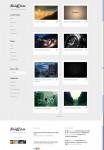 Rockable Themes Briefcase Minimalist Portfolio WordPress Theme