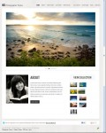 Organic Themes Photographer Responsive Photography WordPress Theme