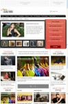 Gabfire Arts and Culture Celebrity Magazine Style WordPress Theme