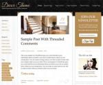 StudioPress Decor Responsive WordPress Genesis Child Theme