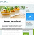 Mint Themes Foodie Premium Food WordPress Theme