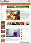 Colorlabs FoodMagz WordPress Child Theme For Backbone Framework