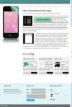 Chimera Themes Smartpress iPhone App Store WordPress Theme