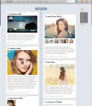 Themify Postline, A Facebook Timeline Inspired WordPress Theme